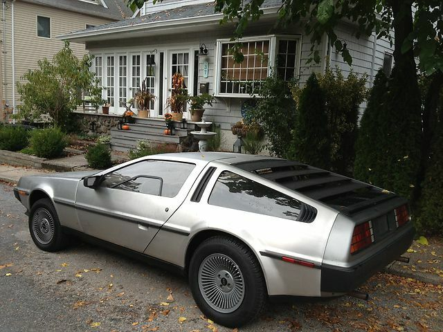 1981 delorean stainless steel time machine mint museum auto must see original used delorean. Black Bedroom Furniture Sets. Home Design Ideas