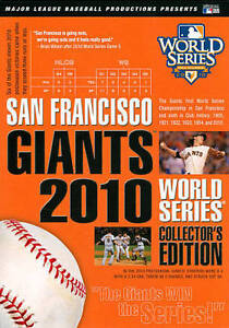 MLB: San Francisco Giants - 2010 World Series [Collector's Ed DVD