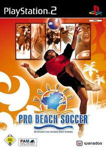 Pro Beach Soccer für PS2 *TOP* (mit OVP)