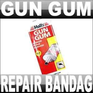 holts gun gum silencer repair bandage exhaust band ebay. Black Bedroom Furniture Sets. Home Design Ideas
