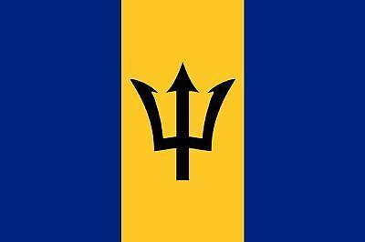 BARBADOS BARBADIAN FLAG 5FT X 3FT
