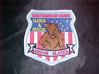 USCG US COAST GUARD COASTIE KODIAK ALASKA SAR DISCOVERY DEADLIEST CATCH PATCH