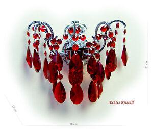 lampadari viola : Dettagli su Lampadari Cristallo Parete Rosso, Verde O Viola Cristalli ...