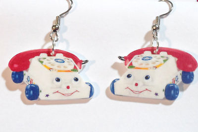 Phone Earrings Phone Toy Charms