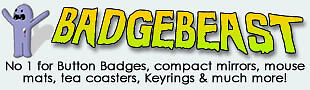 Badge Beast Quality Button Badges