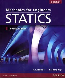 Engineering Mechanics: Statics + Mastering (SI UNIT) 13E by  Hibbeler 13th