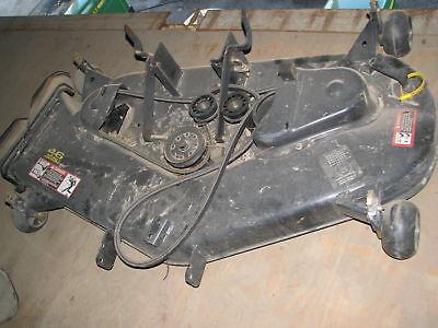 """John Deere 46"""" Mower Deck off STX46 Lawn Tractor DEMO"""