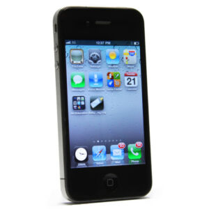 UNLOCKED-JAILBROKEN-Apple-iPhone-4-16GB-Black-AT-T-Smartphone-Cell-Phone-NR