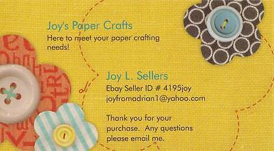 Joy's Paper Crafts