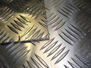 Aluminium-Tread-Chequer-Plate-1000mm-x-215mm-x-6mm