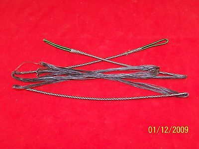 Oneida Bow String 51.5 Black Fast Flight 18 Strand