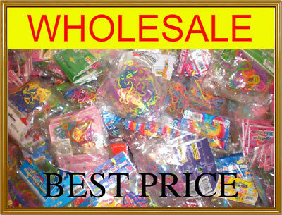 144 ASSORTED SILLY SHAPED RUBBER BANDS BANDZ 12PACKAGES