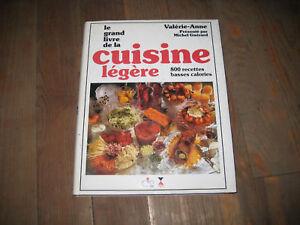 Valerie anne le grand livre de la cuisine l g re ebay for La cuisine de valerie