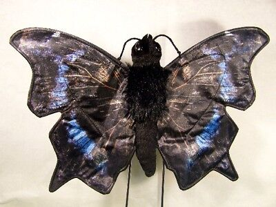Mourning Cloak Butterfly Puppet Fg7243 7w Free Ship/usa Sunny Puppets