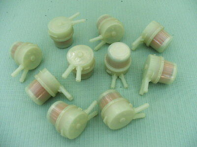"""New 1/4"""" In-line Fuel Filter for most Cars (lot of 100) !FREE SHIPPING!"""