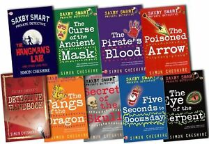 Saxby-Smart-Private-Detective-8-Book-Set-Simon-Cheshire