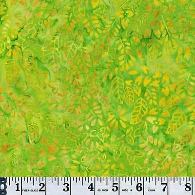 Timeless Treasures Tonga Batik B6297 Mini Leaf Priced Per ½ Yd