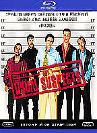 THE USUAL SUSPECTS - Kevin Spacey (BLU RAY)