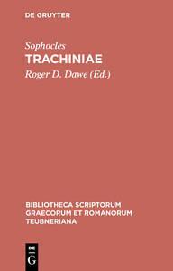 USED-LN-Trachiniae-Bibliotheca-scriptorum-Graecorum-et-Romanorum-Teubneriana