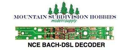 NCE 139 BACH-DSL Bachmann DCC Replacement Decoder              MODELRRSUPPLY-com