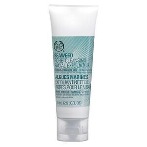 The Body Shop Seaweed Pore Cleansing Facial Exfoliator