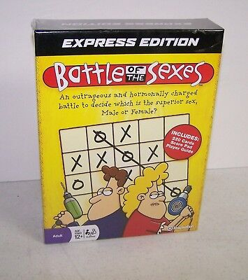 / Sealed Battle Of The Sexes Game Express Edition