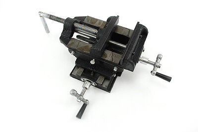 2 Way 4 Drill Press X-y Compound Vise Cross Slide Mill
