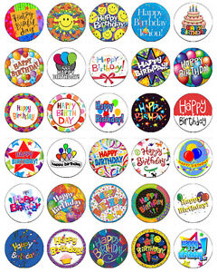 30-x-Happy-Birthday-Party-Rice-Paper-Cup-Cake-Toppers