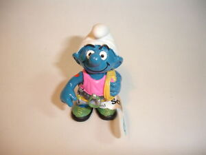 B-Climber-Smurf-lot-Schtroumpf-RARE-Tattoo-NEW