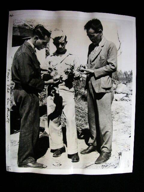 NAGASAKI ATOMIC SOIL ENERGY RADIATION  PHOTO 1947#6470