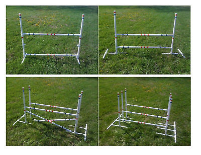 Dog Agility Equipment Combination Jump Set  Lots of Options FREE US SHIPPING