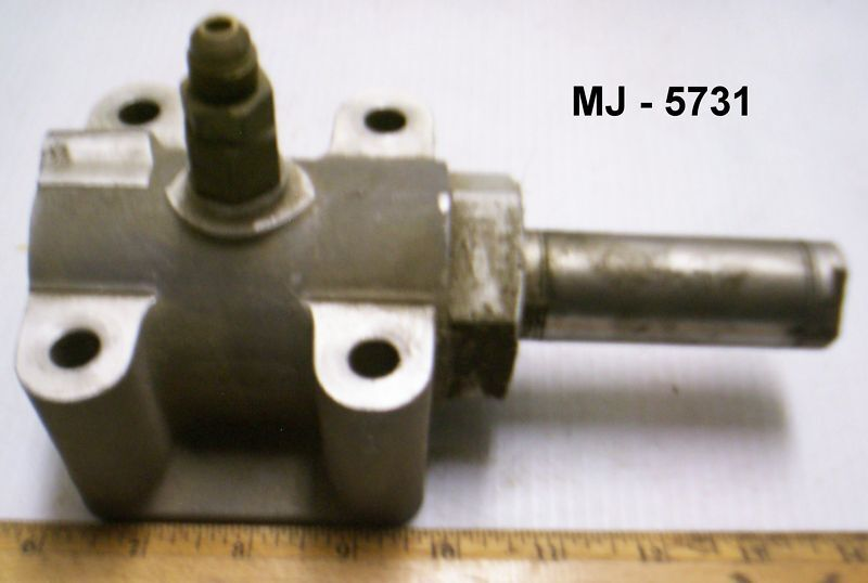 Aluminum Housing, Block, Valve or (?) Assembly