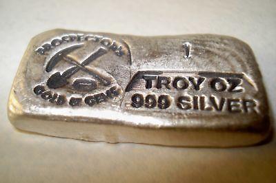 Silver Bar 1 TROY OZ