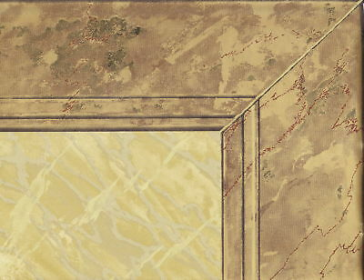 Victorian 20 1/2 Wainscoting Gold Frame Wallpaper Border Wall