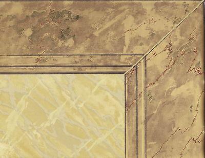 Victorian 20 1/2 Wainscoting Gold Frame Wallpaper Border Wall