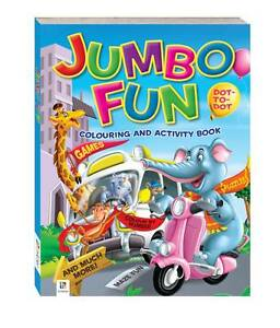 JUMBO-FUN-COLOURING-PUZZLE-BOOK-128-pages-new