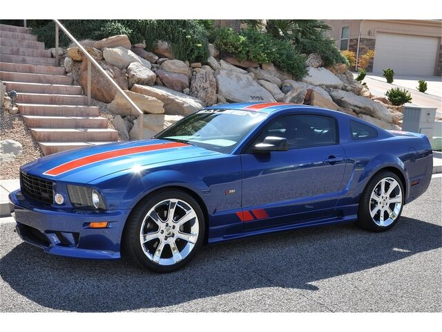 2008 saleen s281af patriot edition mustang 1 of 8 built showroom condition used ford. Black Bedroom Furniture Sets. Home Design Ideas
