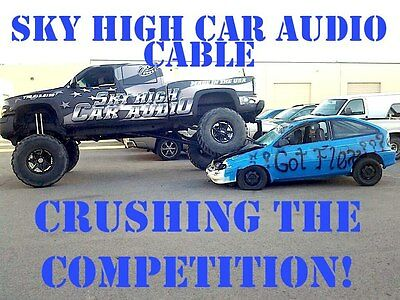 Sky High Car Audio Cable