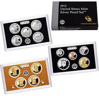 2012 U.S. Mint Proof Coins and eBay Auction Results