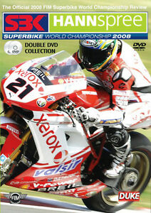 SBK Hannspree Superbike 2008 World Championship 2 Disc DVD Set BRAND NEW