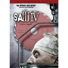 Saw IV (DVD, 2008, Widescreen - Unrated Director's Cut)