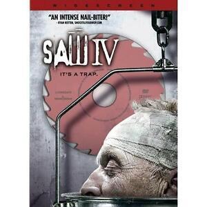Saw IV (DVD, 2008, Widescreen)