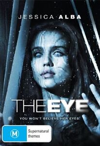 The Eye (DVD, 2008)-MOVIE REGION 4-NEW & SEALED-JESSICA ALBA