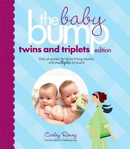 THE BABY BUMP TWINS AND TRIPLETS by Carley Roney : WH1-R2B : PBL : NEW BOOK
