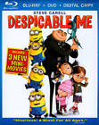 Despicable Me (Blu-ray/DVD, 2010, 3-Disc Set, Includes Digital Copy) (Blu-ray/DVD, 2010)