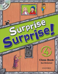 Surprise Surprise! 4. Class Book with CD-ROM, CD audio; Mohamed, Sue, ELT