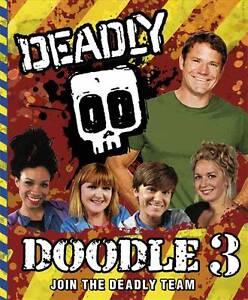 Deadly Doodle Book 3, Backshall, Steve, New Book