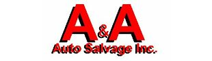 A and A Auto Salvage Inc