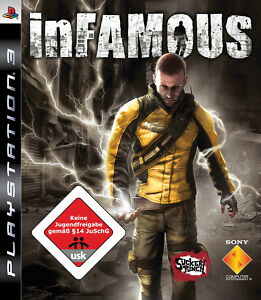 SONY PS3 inFamous 1 PlayStation 3 OVP gebraucht komplett Sammler günstig - Alland, Österreich - Rücknahmen akzeptiert - Alland, Österreich