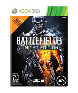 X BOX 360 Battlefield 3  Limited Edition   European Version - London, United Kingdom - X BOX 360 Battlefield 3  Limited Edition   European Version - London, United Kingdom